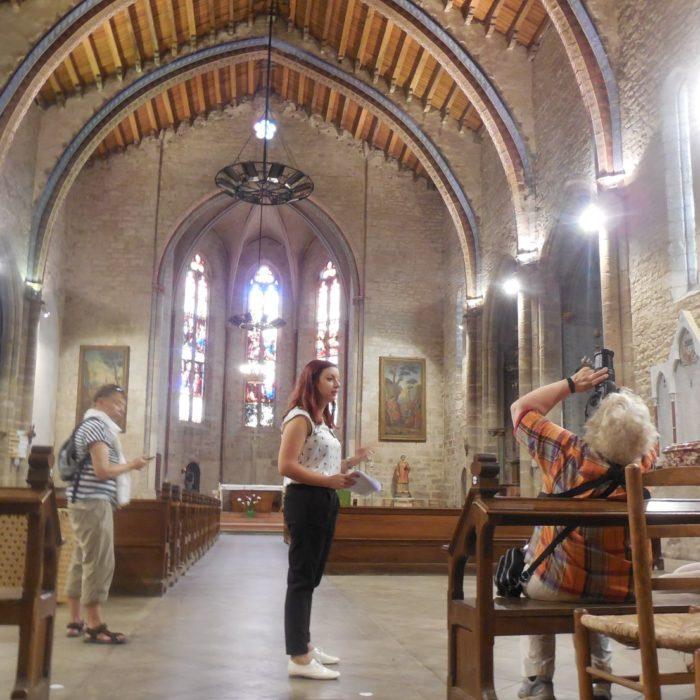 visite guidée villages carcassonne eglise trebes